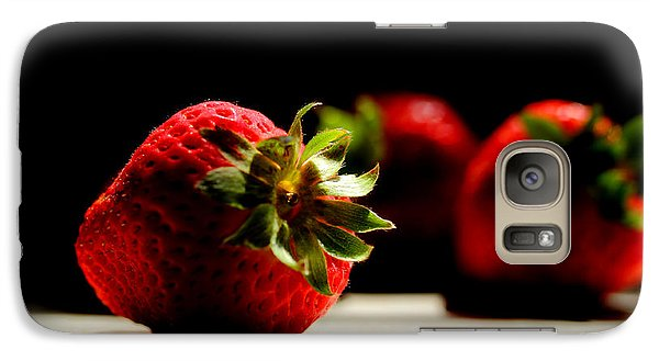 Countertop Strawberries Galaxy Case by Michael Eingle