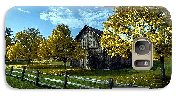 Country Landscape Painting Galaxy Case by Marvin Blaine