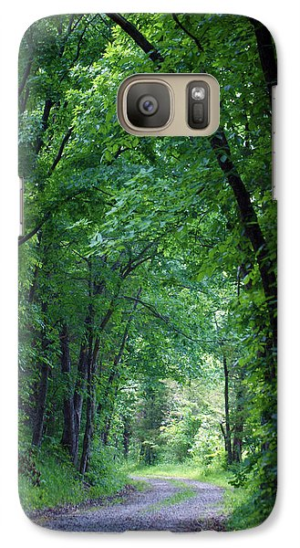 Country Lane Galaxy S7 Case by Cricket Hackmann