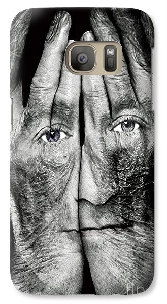 Cover Thy Faces Galaxy S7 Case by Gary Keesler