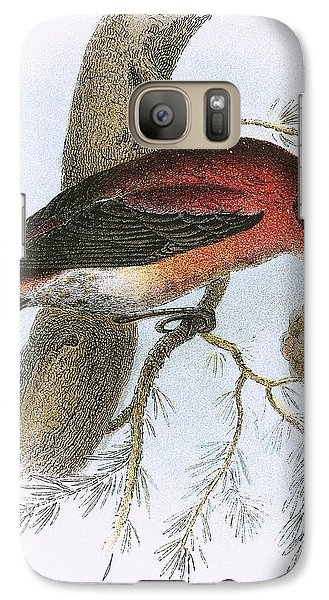 Crossbill Galaxy S7 Case by English School