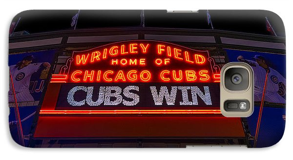 Cubs Win Galaxy S7 Case by Steve Gadomski