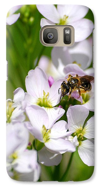 Cuckoo Flowers Galaxy Case by Christina Rollo