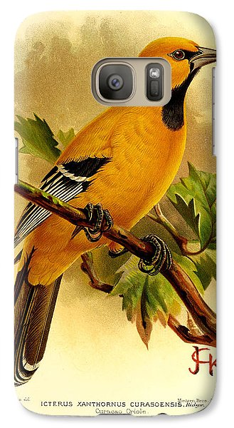 Curacao Oriole Galaxy Case by J G Keulemans