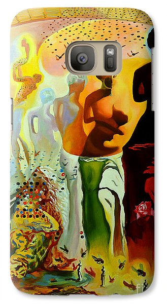 Dali Oil Painting Reproduction - The Hallucinogenic Toreador Galaxy Case by Mona Edulesco