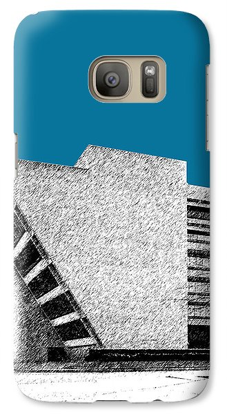 Dallas Skyline City Hall - Steel Galaxy S7 Case by DB Artist