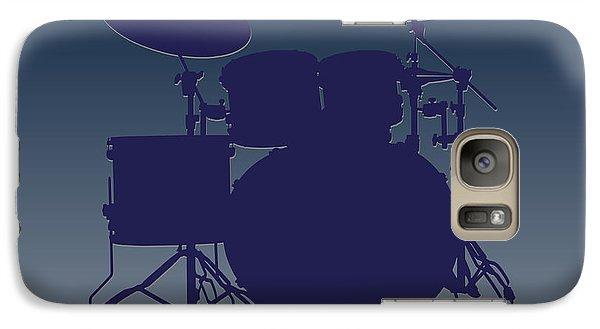 Dallas Cowboys Drum Set Galaxy Case by Joe Hamilton