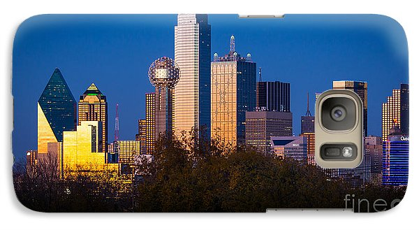 Dallas Skyline Galaxy S7 Case by Inge Johnsson