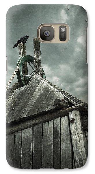 Dark Days Galaxy S7 Case by Amy Weiss