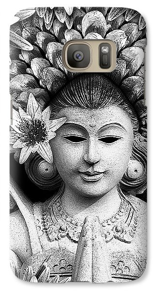 Dawning Of The Goddess Galaxy S7 Case by Christopher Beikmann