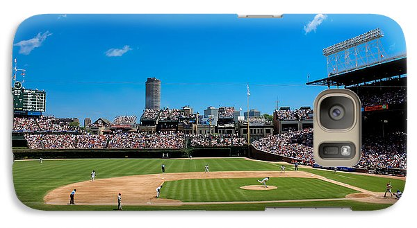 Day Game At Wrigley Field Galaxy S7 Case by Anthony Doudt