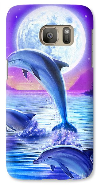 Day Of The Dolphin Galaxy S7 Case by Robin Koni