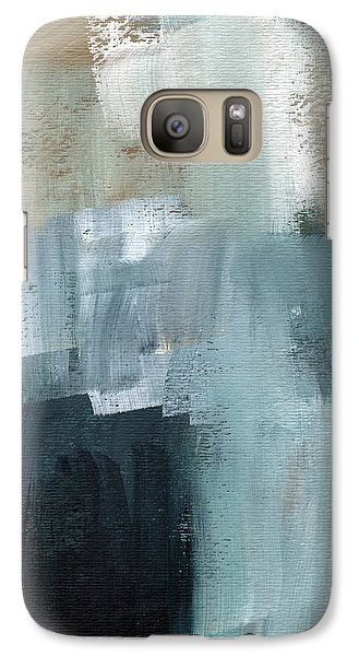 Days Like This - Abstract Painting Galaxy S7 Case by Linda Woods