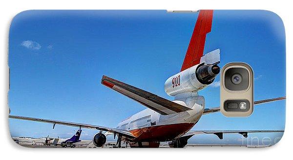 Galaxy Case featuring the photograph Dc-10 Air Tanker  by Bill Gabbert