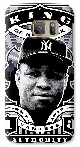 Dcla Elston Howard Kings Of New York Stamp Artwork Galaxy Case by David Cook Los Angeles