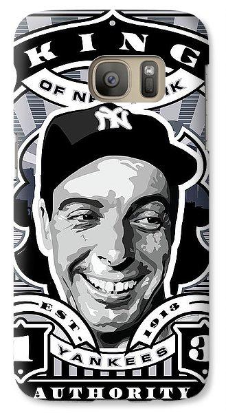 Dcla Joe Dimaggio Kings Of New York Stamp Artwork Galaxy Case by David Cook Los Angeles