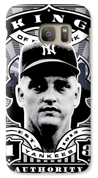 Dcla Roger Maris Kings Of New York Stamp Artwork Galaxy Case by David Cook Los Angeles