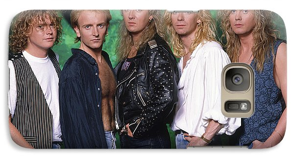 Def Leppard - 15 Months Of Rock 1987 Galaxy Case by Epic Rights