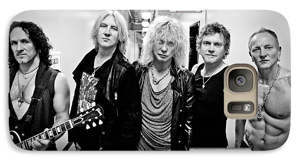 Def Leppard - Mirrorball Tour 2011 B&w Galaxy Case by Epic Rights