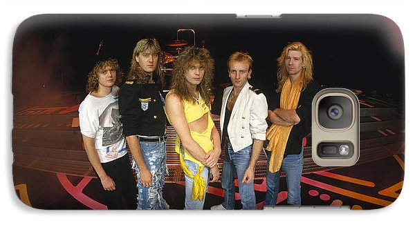 Def Leppard - Round Stage 1987 Galaxy Case by Epic Rights