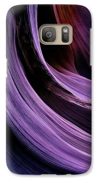 Desert Eclipse Galaxy S7 Case by Mike  Dawson