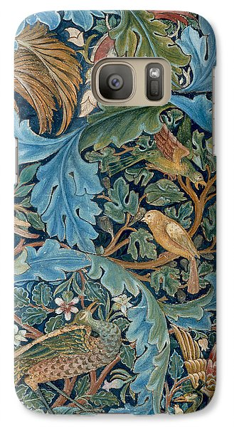 Design For Tapestry Galaxy S7 Case by William Morris