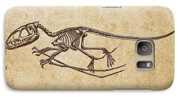 Dinosaur Pterodactylus Galaxy S7 Case by Aged Pixel