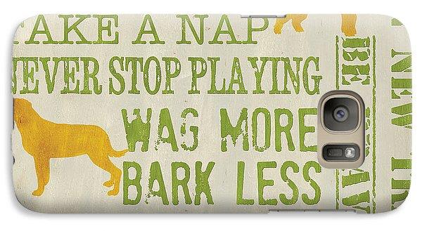 Dog Wisdom Galaxy Case by Debbie DeWitt