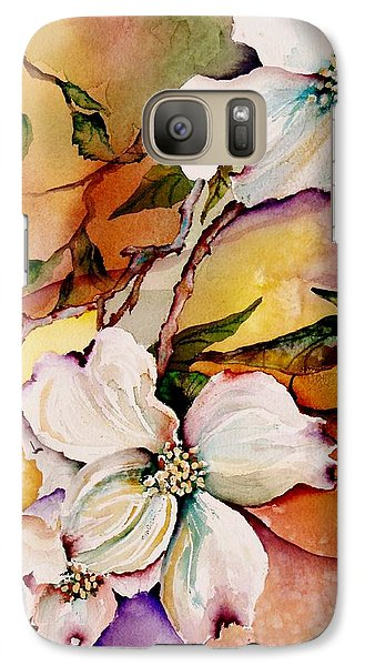 Dogwood In Spring Colors Galaxy S7 Case by Lil Taylor