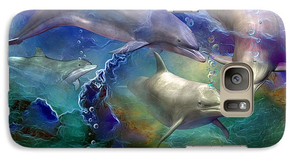 Dolphin Dream Galaxy S7 Case by Carol Cavalaris