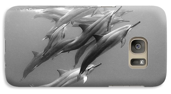 Dolphin Pod Galaxy S7 Case by Sean Davey