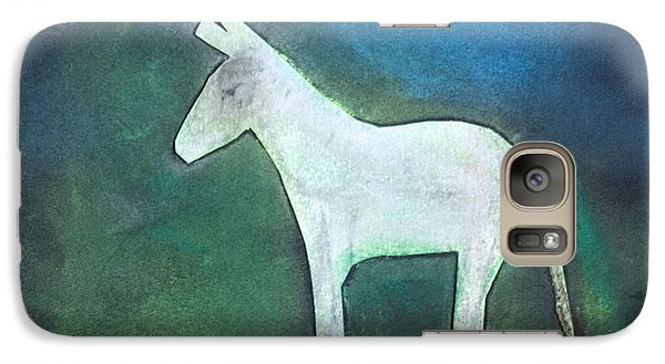 Donkey, 2011 Oil On Canvas Galaxy S7 Case by Roya Salari