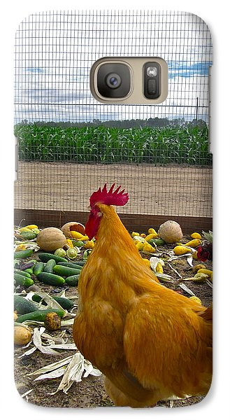 Don't Forget Your Veggies ... Galaxy Case by Gwyn Newcombe