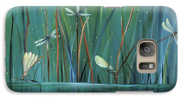 Dragonfly Diner Galaxy S7 Case by Carol Sweetwood