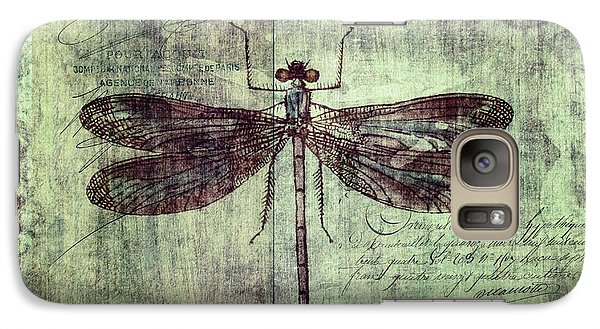 Dragonfly Galaxy S7 Case by Priska Wettstein