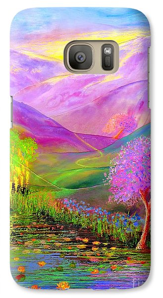 Dream Lake Galaxy Case by Jane Small