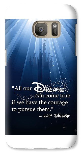 Dreams Can Come True Galaxy Case by Nancy Ingersoll