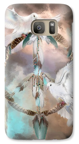 Dreams Of Peace Galaxy S7 Case by Carol Cavalaris