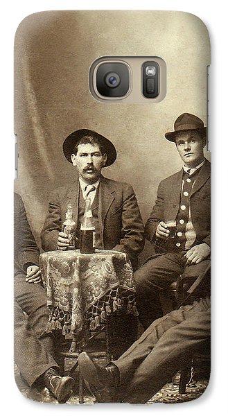 Drinking Buddies Galaxy Case by Jon Neidert
