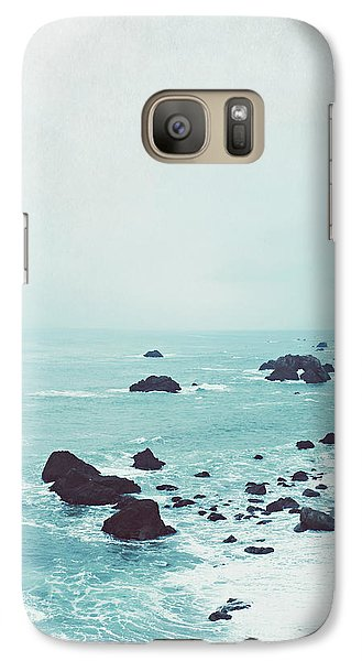 Dusk At The Sea Galaxy Case by Lupen  Grainne