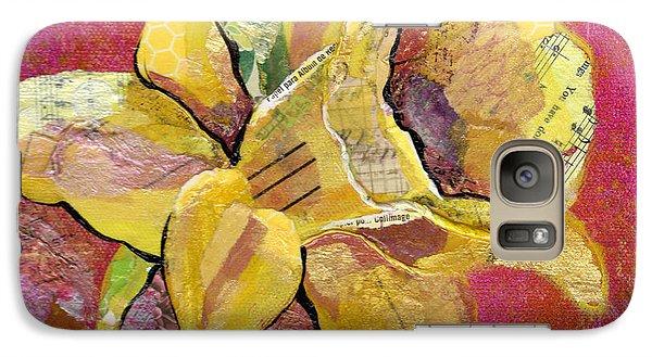 Early Spring I Daffodil Series Galaxy S7 Case by Shadia Derbyshire