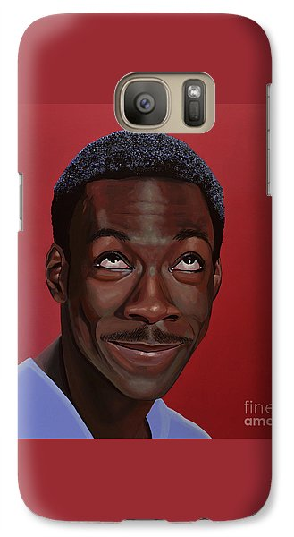 Eddie Murphy Painting Galaxy S7 Case by Paul Meijering