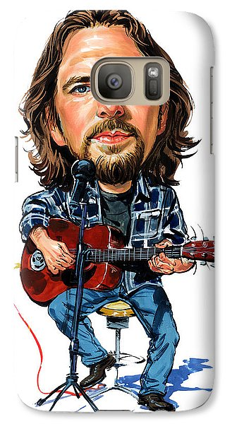 Eddie Vedder Galaxy Case by Art