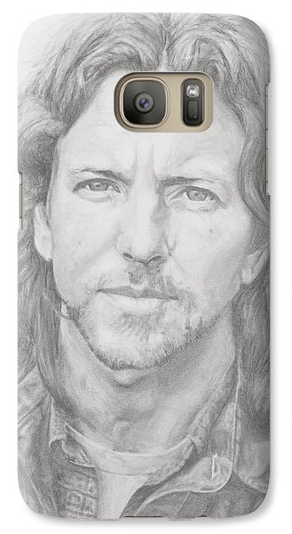 Eddie Vedder Galaxy Case by Olivia Schiermeyer