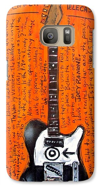 Eddie Vedder's Telecaster Galaxy Case by Karl Haglund