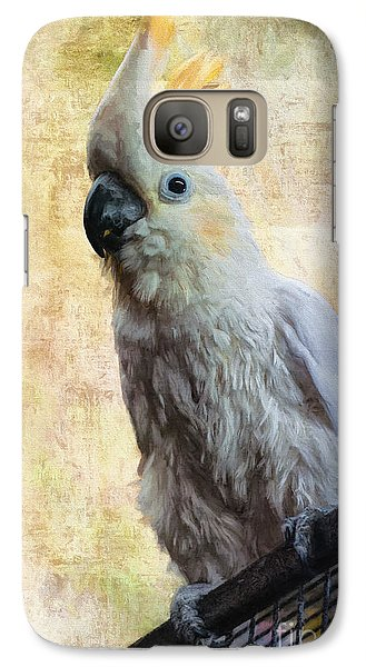 Elegant Lady Galaxy S7 Case by Lois Bryan