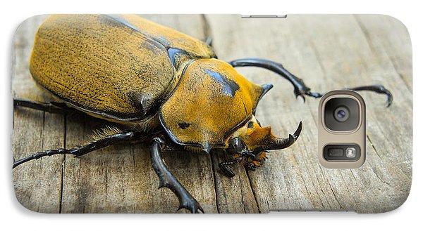 Elephant Beetle Galaxy Case by Aged Pixel