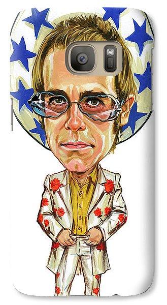 Elton John Galaxy Case by Art