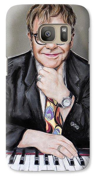 Elton John Galaxy Case by Melanie D