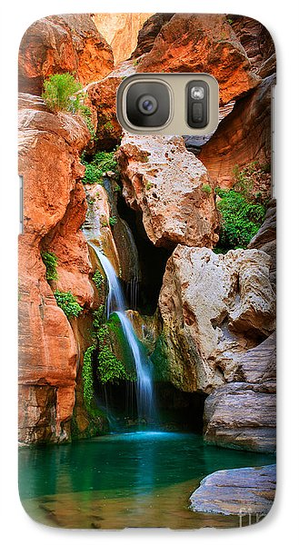 Elves Chasm Galaxy Case by Inge Johnsson